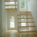 こだわりの スケルトン階段